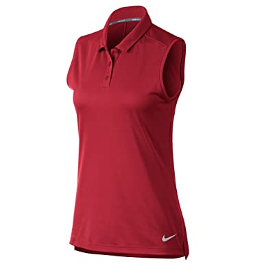 8a56ec3c Image Unavailable. Image not available for. Color: Nike Women's Golf Fitness  Training Polo ...