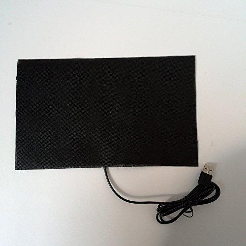 MOOUS USB calentador de ropa eléctrico almohadilla de 5 V calentador de mano plegable de fibra de carbono invierno para...