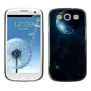 Terrenal Justicia - Metal de aluminio y de plástico duro Caja del teléfono - Negro - Samsung Galaxy S3