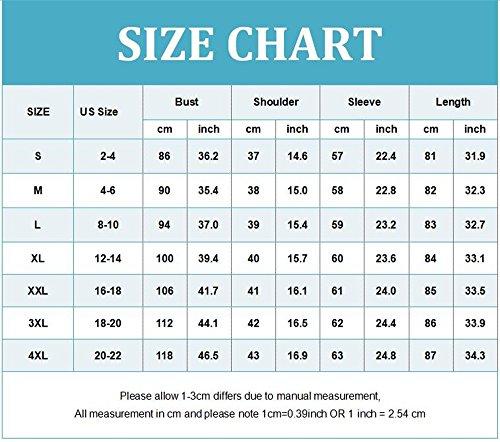 Corta Dress 4xl Size Black Loose shirt Tops S Omzin Mujeres T De Casual Manga Plus OqwH6Pz6t