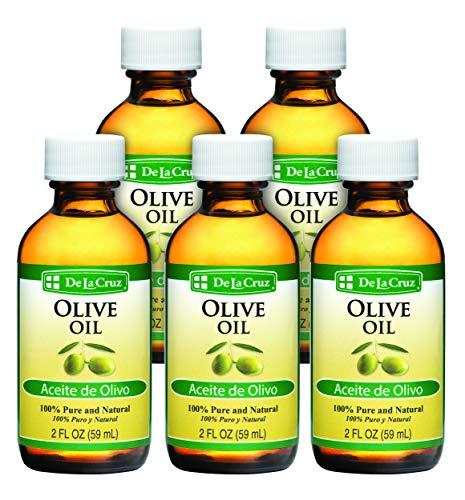 De La Cruz Pure Olive Oil, Non-GMO, Bottled in USA 5 Bottles