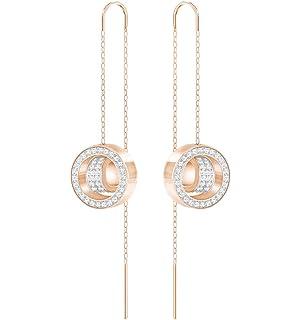 11511c2e6 Amazon.com: Swarovski Ginger Chain Pierced Earrings - 5347293: Jewelry
