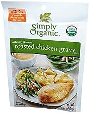 Simply Organic Roasted Chicken Gravy Seasoning Mix , 24g (Pack of 6)