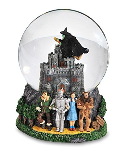 Wizard Of Oz Wicked Witch Castle Water Globe