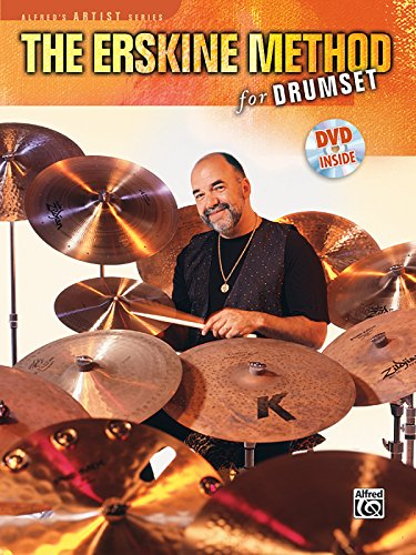 The Erskine Method for Drumset (Book & DVD) (Alfred's Artist ()
