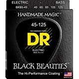 DR Strings Bass Strings, Black Beauties-Extra-Life Black, Coated 5-String, 45-125