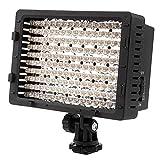 Neewer CN-160 Panel de luz LED de 160 LED Regulable para cámara de vídeo y digital SLR Canon Nikon, Pentax, Panasonic, Sony, Samsung y Olympus