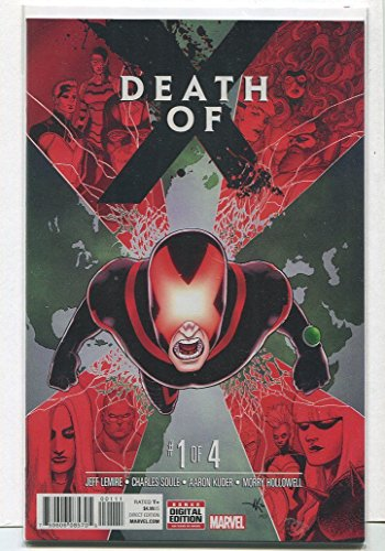 Death Of X #1-4 Full Set Complete Run Near Mint Marvel Comics LG1