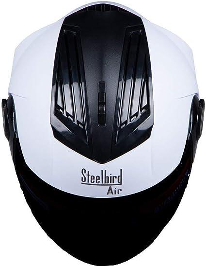 Steelbird SBA-2 Casque de moto int/égral avec visi/ère suppl/émentaire