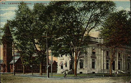 Depot and Post Lawrence, Massachusetts Original Vintage -