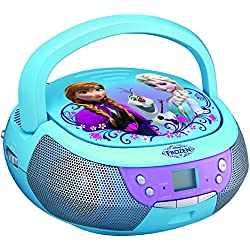 Frozen CD Player Boombox with Microphone