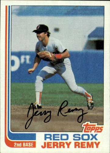 - 1982 Topps Baseball Card #25 Jerry Remy