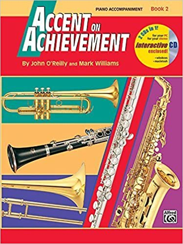 Book Accent on Achievement, Bk 2: Piano Acc. by John O'Reilly (1998-08-01)