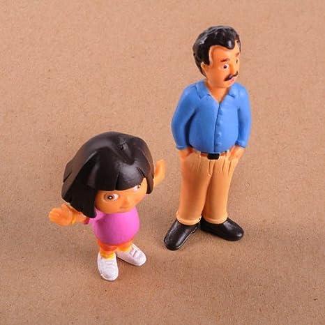 Amazon.com: Dora the Explorer 9 Piece Adventure Play Set Featuring 9 Figures 1/2