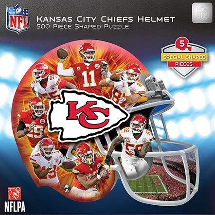 【限定価格セール!】 Kansa City City Chiefs Helmet Shapeパズル500ピース Kansa。 Chiefs B078864W3X, パーツモール:b1f34038 --- a0267596.xsph.ru