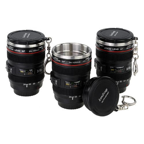 Fotodiox LenZcup Shotglass Set Stainless
