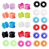 BodyJ4You 32PC Tunnels Gauges Kit Ear Stretching