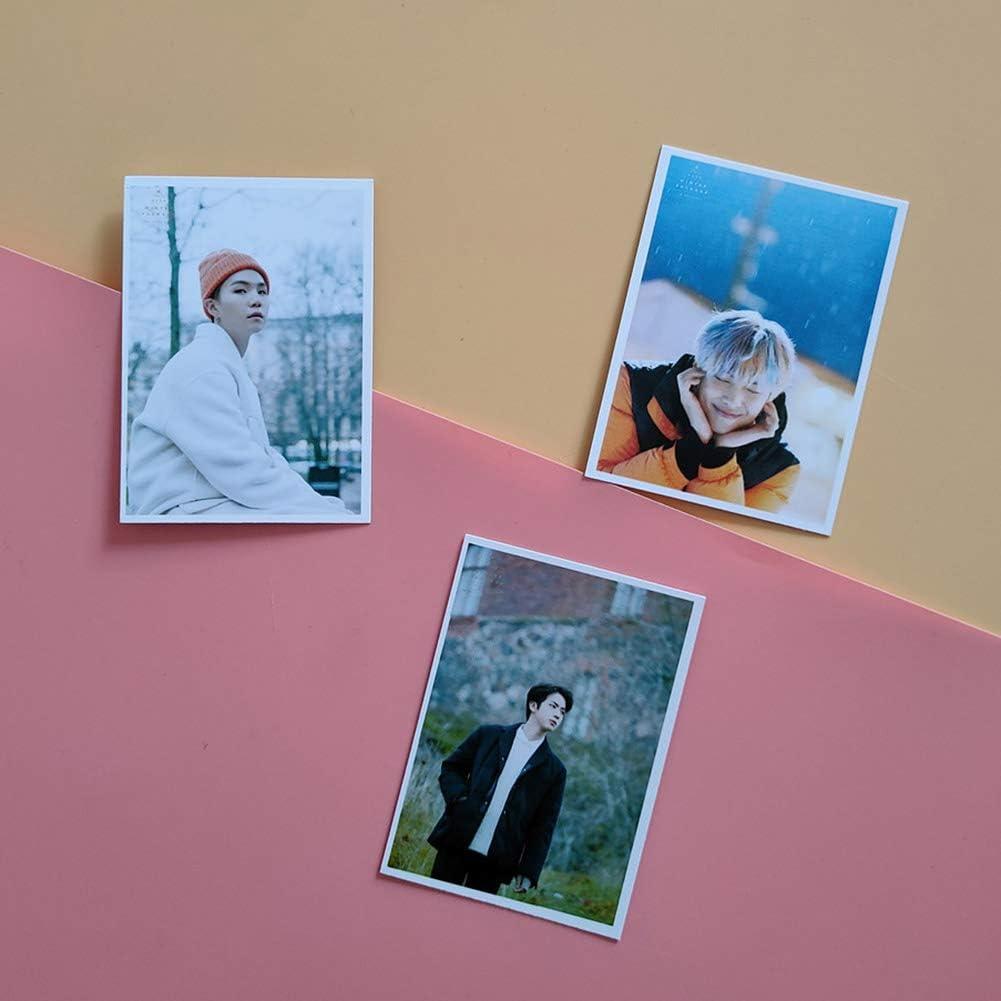 Sportstorm Kpop BTS Map of the Soul 7 Carte Papier Photo Photocards Lomo Carte Autocollant Carte Postale Set Cadeau pour A.R.M.Y 16pcs
