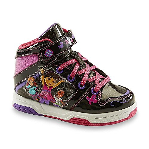 Nickelodeon Toddler Girls Dora and Friends Hi Top Sneakers -