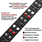 Titanium Magnetic Therapy Bracelet | 4000 Gauss