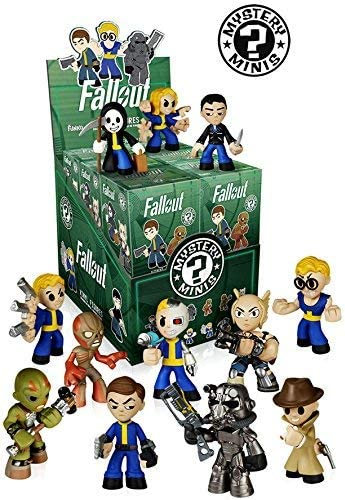 Funko Fallout Mystery Minis Mini-Figure Display Box by: Amazon.es: Juguetes y juegos