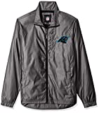 G-III Sports NFL Carolina Panthers The Executive Full Zip Jacket, Small, Charcoal Gray