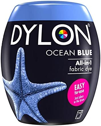Dylon Machine Fabric Dye Pod Ocean Blue