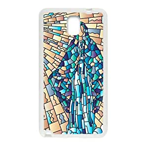 Stained Glass New Style High Quality Comstom Protective case cover For Samsung Galaxy Note3