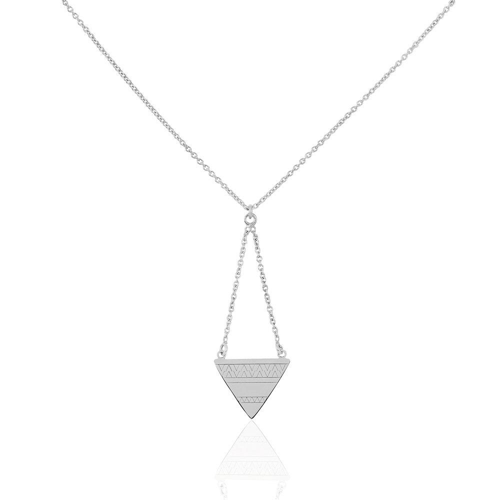 Historia de oro - Collar plata Mahala corbata - Mujer - -talla ...