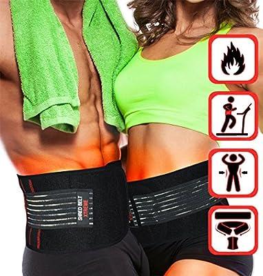 Shred Belt Xtreme - Thermogenic Waist Trimmer Belt, Belly Fat Burner, Weight Loss, Spot Reduction Belt, Waist Slimmer