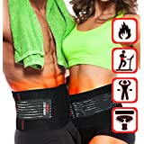 Shred Belt Xtreme - Thermogenic Waist Trimmer Belt, Belly Fat Burner, Weight Loss, Spot Reduction Belt, Waist Slimmer (Medium - Fits 28in to 36in Waists)