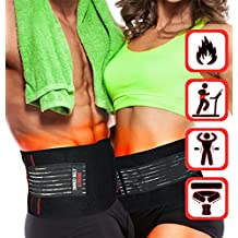 Shred Belt Xtreme - Thermogenic Waist Trimmer Belt, Belly Fat Burner, Weight Loss, Spot Reduction Belt, Waist Slimmer (Large - Fits 34in to 48in Waists)