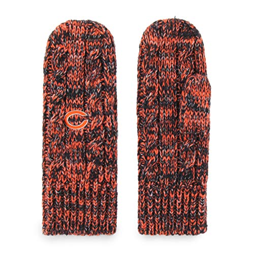 Lady Bears - OTS NFL Chicago Bears Female Brilyn Mittens, Navy, Women's