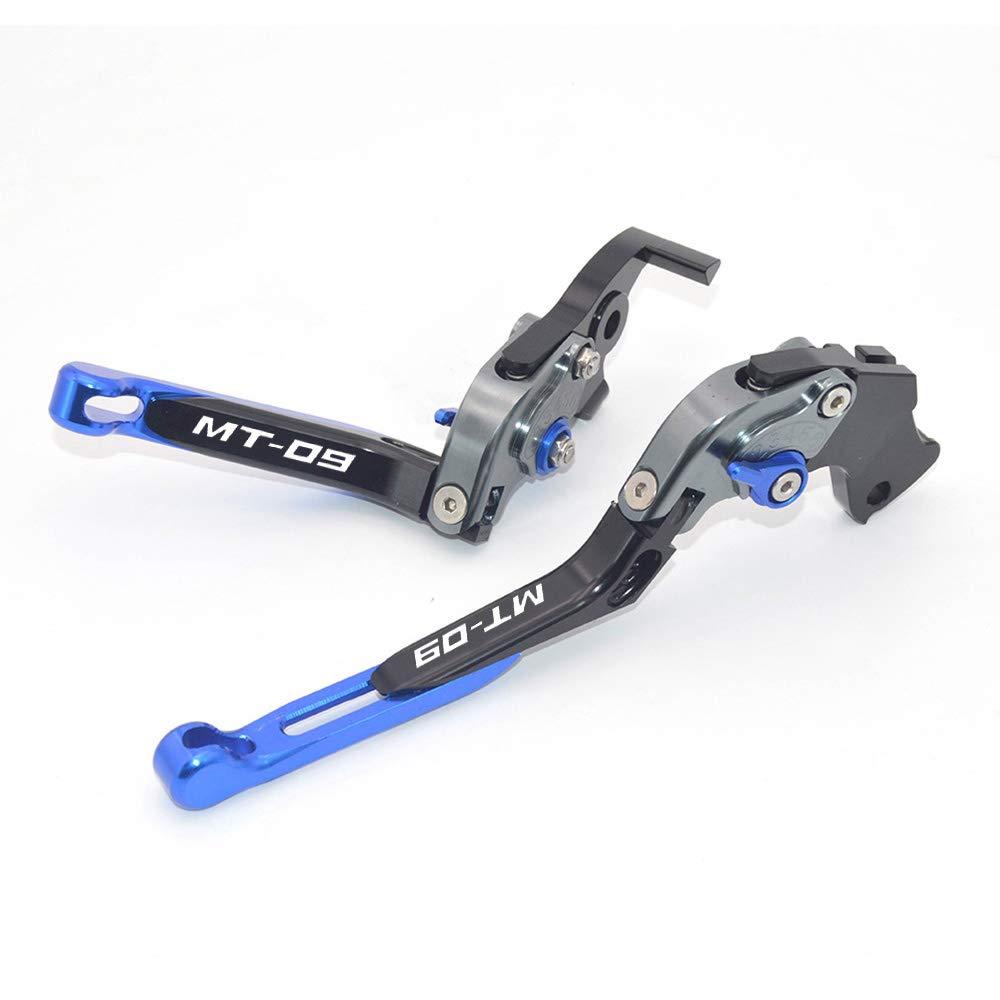 CNC extensible pliable R/églage de La moto leviers de frein dembrayage pour Yamaha Mt-09//SR 2014 2018