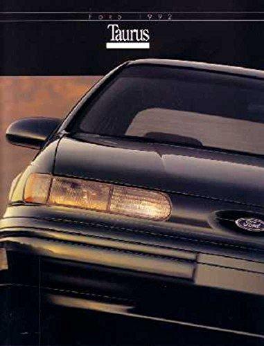 - 1992 Ford Taurus Sales Brochure Literature Book Piece Dealer Advertisement