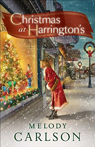 book cover of Christmas at Harrington\'s