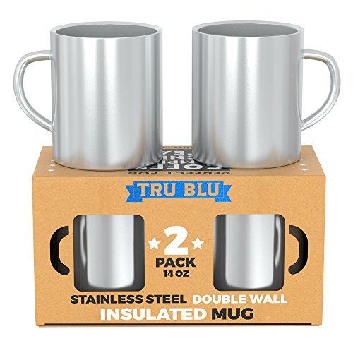 metal coffee mug set - 7