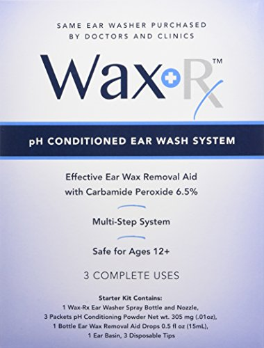 Doctor Easy Wax-Rx Ph Conditioned Ear Wash System, 15.2 Ounce by Doctor Easy