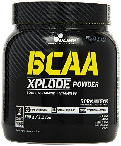 Olimp BCAA Xplode Powder Fruit Punch, 1er Pack (1 x 500 g)