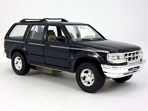 4.75 Inch Ford Explorer Scale Diecast Metal Car Model by Welly - (Toyota Mini Trucks)