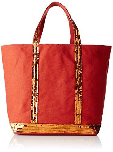 Vanessa Bruno 0PVE01, Borsa a Mano Donna, Arancione (Orange Ginger), 16x30x43 cm (W x H x L)