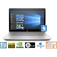 """HP Envy 17 Core i7-8850U 16GB 17.3"""" FHD Touch WLED NVIDIA 4GB Office 365 Laptop (Certified Refurbished)"""