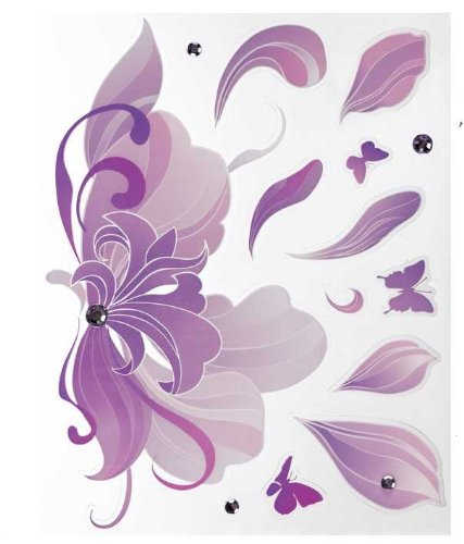 Ganz Stickers for laptops and netbooks - Purple Fantasy