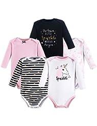 Hudson Baby Unisex Baby Long Sleeve Bodysuits