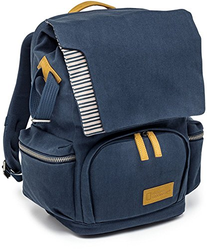 National Geographic NG MC 5320 Small Backpack for Personal Gear, Laptop & DSLR (Multi Color) by National Geographic