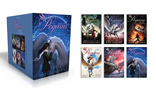 The Pegasus Complete Olympian Collection: The Flame of Olympus; Olympus at War; The New Olympians; Origins of Olympus; Rise of the Titans; The End of Olympus by Aladdin (Image #1)