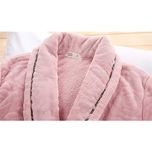 Casa Mangas Cardigan Ropa Señoras A~lice amp;sy Pijamas Baño amp; De Batas Simple Invierno Otoño Largas Albornoz Casual l E qSB86ZnvBW