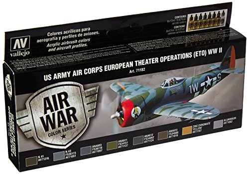 Vallejo Us Army Air Corps European Theater Operations WWII Paint ()