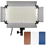 Image of Neewer 500 LED Photo Studio Lighting Panel, Diffuser, 2 Color Filters(Orange and Blue) and 4 Dimmer Switch for Canon Nikon Pentax Panasonic Sony Samsung Olympus and Other Digital DSLR Cameras