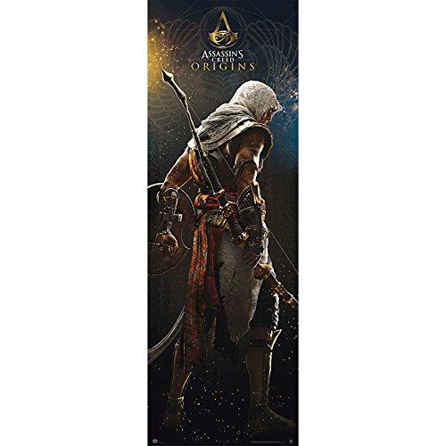 Grupo Erik editores Gate–Poster with Design Assassins Creed Origins, 53x 158cm